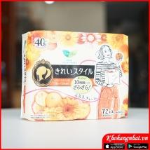 Băng vệ sinh hàng ngày 72pc màu vàng rẻ nhất