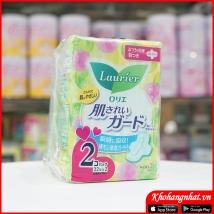 Set 2 gói băng vệ sinh Laurier ngày có canh (22pc*2) rẻ nhất