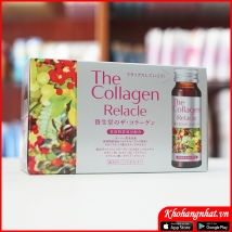 Collagen Relacle Shiseido dạng nước (50ml*10)