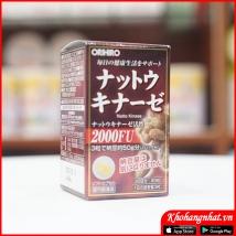 Viên uống chống tai biến, đột quỵ NATTO 2000FU ORIHIRO rẻ nhất
