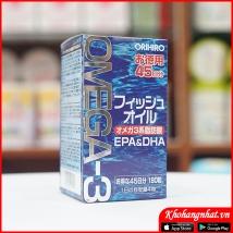 Dầu cá Omega-3 Orihiro (180 viên)  rẻ nhất