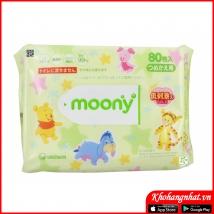 Giấy ướt Moony 80 tờ rẻ nhất