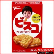 Bánh kem Bisco GLICO hộp 15 cái  rẻ nhất