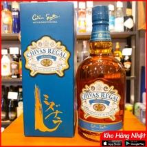 Rượu Chivas Regal Mizunara xanh 700ml Nhật Bản rẻ nhất