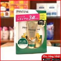 Bộ dầu gội & xả Pantene sét 3 màu xanh lá (300ml+270g+70g) 2020 rẻ nhất