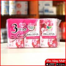 Băng vệ sinh hàng ngày 108pc (36pc x 3) màu hồng rẻ nhất