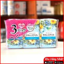 Băng vệ sinh hàng ngày 108pc (36pc x 3) màu xanh đậm (hoa cúc) rẻ nhất