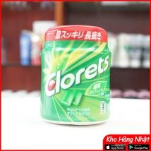 Kẹo cao su Clorets bạc hà 140g (xanh lá) rẻ nhất