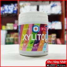 Kẹo cao su Lotte Xylitol Nhật Bản vị hoa quả