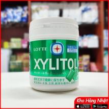 Kẹo cao su Lotte Xylitol Nhật Bản vị Lime mint (xanh lá)