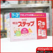 Sét 2 hộp sữa Meiji 1-3 (800g*2 hộp) rẻ nhất