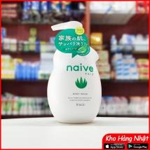 Sữa tắm lô hội Naive 530ml Nhật Bản rẻ nhất