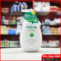 Sữa tắm hương rừng Naive 530ml Nhật Bản rẻ nhất