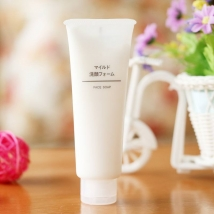 Sửa rửa mặt Muji Face Soap 120g của Nhật Bản