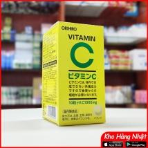 Viên uống bổ sung vitamin C Orihiro 300 viên rẻ nhất