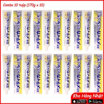 COMBO 10 tuýp kem đánh răng muối Sunstar (170g x 10 tuýp)