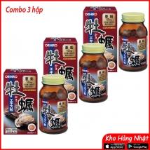COMBO 3 hộp tinh chất hàu tươi Orihiro (120 viên x 3 hộp) nội địa Nhật giá rẻ nhất