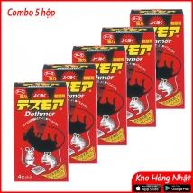 COMBO 05 hộp Thuốc diệt chuột DETHMOR 120g rẻ nhất