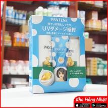 Bộ dầu gội & xả Pantene sét 3 màu xanh lá (450ml+400g+70g) rẻ nhất
