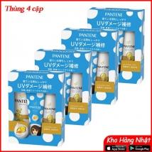 Thùng 4 bộ dầu gội & xả Pantene sét 3 màu vàng (450ml+400g+70g)