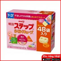 Sữa Meiji thanh số 1-3 (48 thanh) nội địa Nhật giá rẻ nhất
