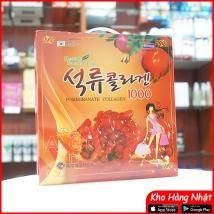 Nước ép lựu collagen Korea 2400ml (80ml x 30 gói) chính hãng giá rẻ nhất