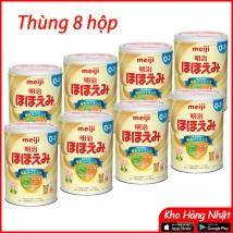 Thùng 8 hộp sữa Meiji số 0-1 (800g x 8 hộp) rẻ nhất