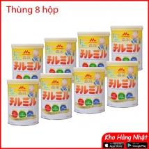 Thùng 8 hộp sữa Morinaga số 1-3 (820g x 8 hộp) nội địa Nhật Bản