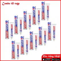 Combo 10 tuýp kem đánh răng White & White Lion (150g x 10) giá rẻ nhất
