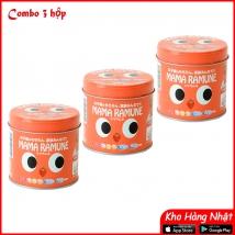 Combo 3 hộp Kẹo biếng ăn Mama Ramune (200 viên x 3) nội địa Nhật giá rẻ nhất