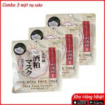 Combo 3 mặt nạ Sake (3 x 33 miếng) giá rẻ nhất