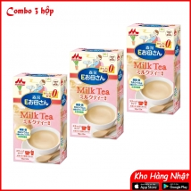 Combo 3 hộp Sữa Morinaga bầu (216g x 3) vị hồng trà giá rẻ nhất