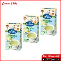 Combo 3 hộp Sữa Morinaga bầu (216g x 3) vị trà xanh giá rẻ nhất