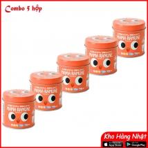 Combo 5 hộp Kẹo biếng ăn Mama Ramune (200 viên x 5) nội địa Nhật giá rẻ nhất