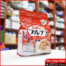 Ngũ cốc Calbee 800g màu đỏ (nội địa Nhật) rẻ nhất