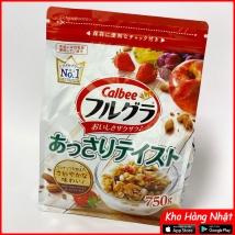 Ngũ cốc Calbee 750g vị tổng hợp giá rẻ nhất
