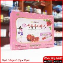 Thạch lựu collagen-S Korea 450g (15g x 30) giá rẻ nhất