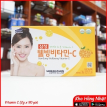 Vitamin C Samsung Wellbeing 180g (2g x 90) giá rẻ nhất