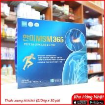 Viên Uống Bổ Khớp Glucosamine Hanmi MSM365 Samsung (515 mg x 180 viên)