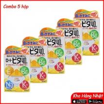 Combo 5 hộp Nước nhỏ mắt Rohto 12ml (màu vàng) rẻ nhất