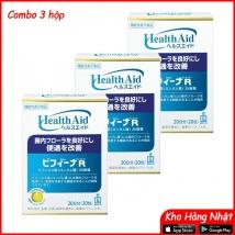 Combo 3 Men tiêu hóa Health Aid 20 ngày (20 gói) rẻ nhất