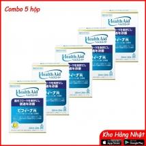 Combo 5 Men tiêu hóa Health Aid 20 ngày (20 gói) rẻ nhất