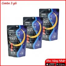 Combo 3 gói Trà giảm cân Night Diet Tea 40g (2g x 20túi x 3 gói)