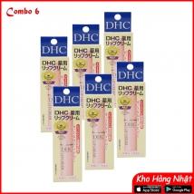 Combo 06 Son dưỡng DHC 1,5g không màu (1,5g x 6) rẻ nhất