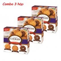Combo 3 hộp Bánh Cookies Original Assort Nhật (48 chiếc x 3) giá rẻ nhất