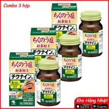 Combo 3 hộp Viên uống trị viêm xoang Kobayashi Chikunain (112 viên x 3) nội địa Nhật Bản