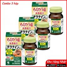 Combo 3 hộp Viên uống trị viêm xoang Kobayashi Chikunain (56 viên x 3) nội địa Nhật Bản