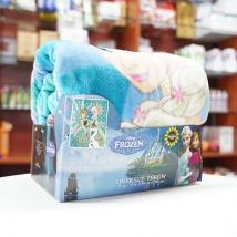 Chăn lông cừu hình Disney Froze (hình công chúa màu xanh) nội địa Nhật Bản