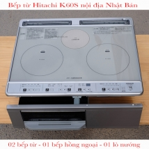 Bếp từ Hitachi HT-K60S nội địa Nhật Bản