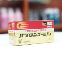 Viên Uống Hỗ Trợ Trị Cảm Cúm Taisho Pabrons Nhật Bản 210 viên